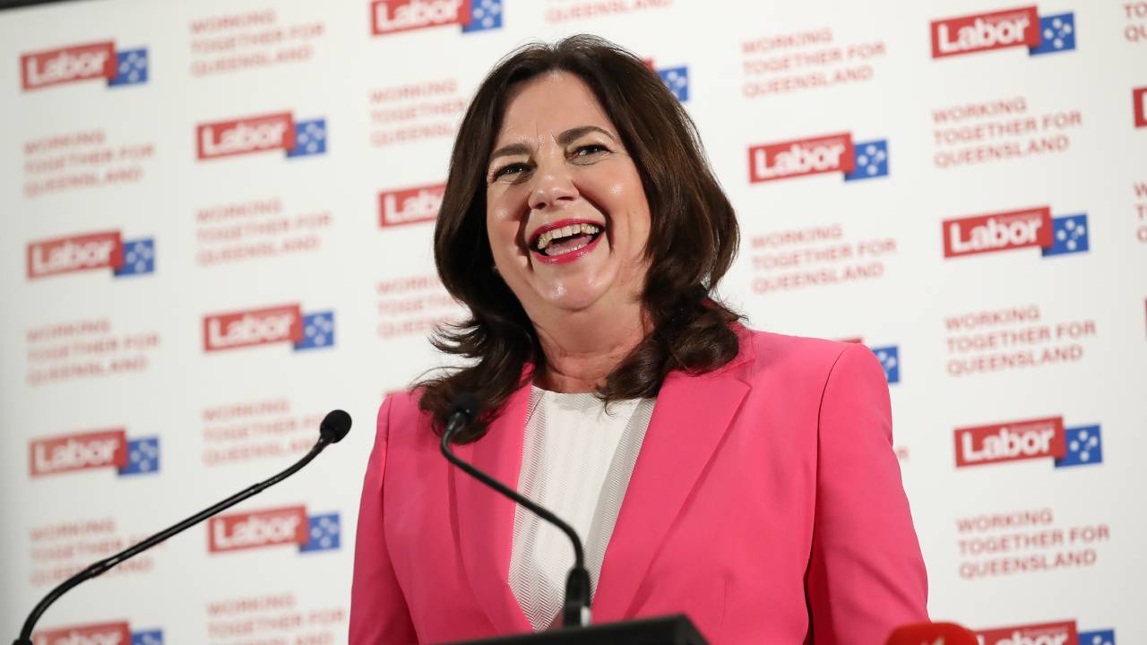 Queensland border closure for Victoria and Sydney to remain in place after election win