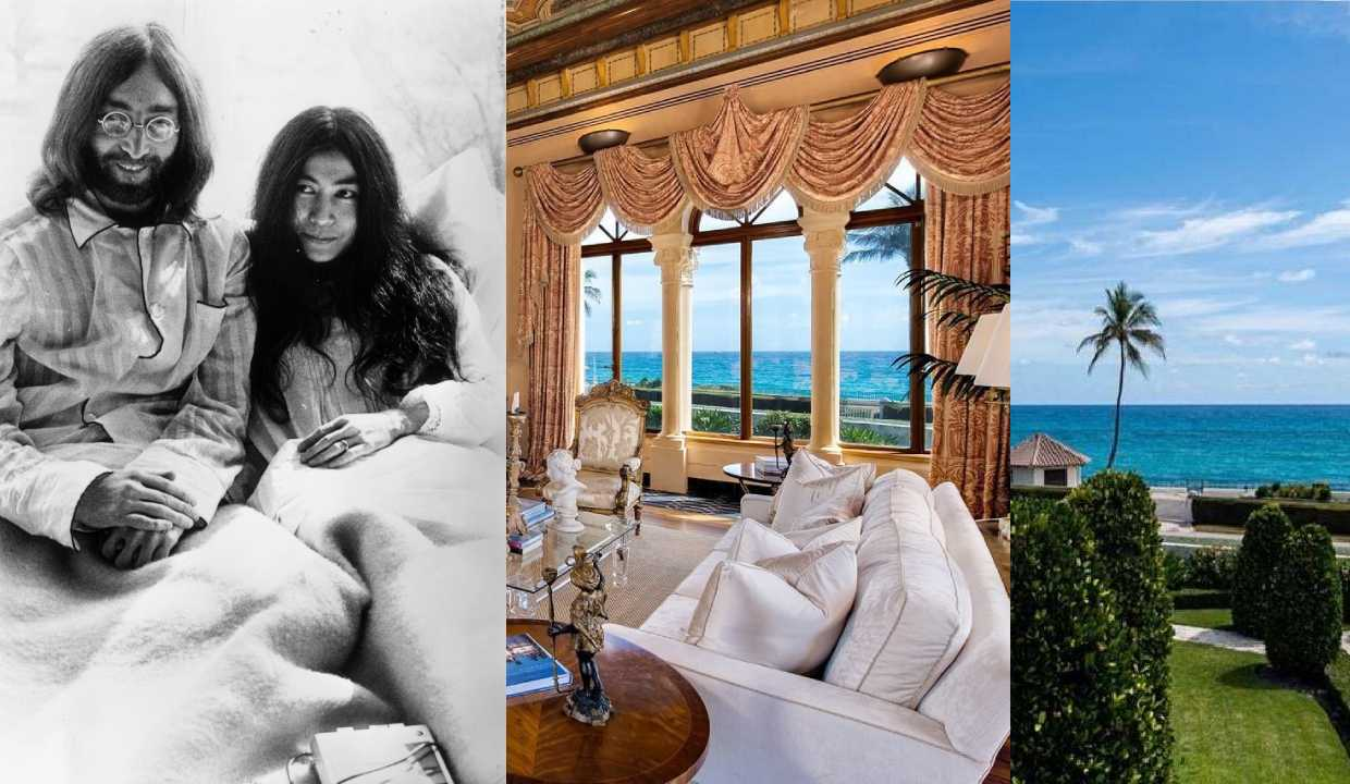 John Lennon and Yoko Ono's Palm Beach mansion sells for eyewatering $36 million