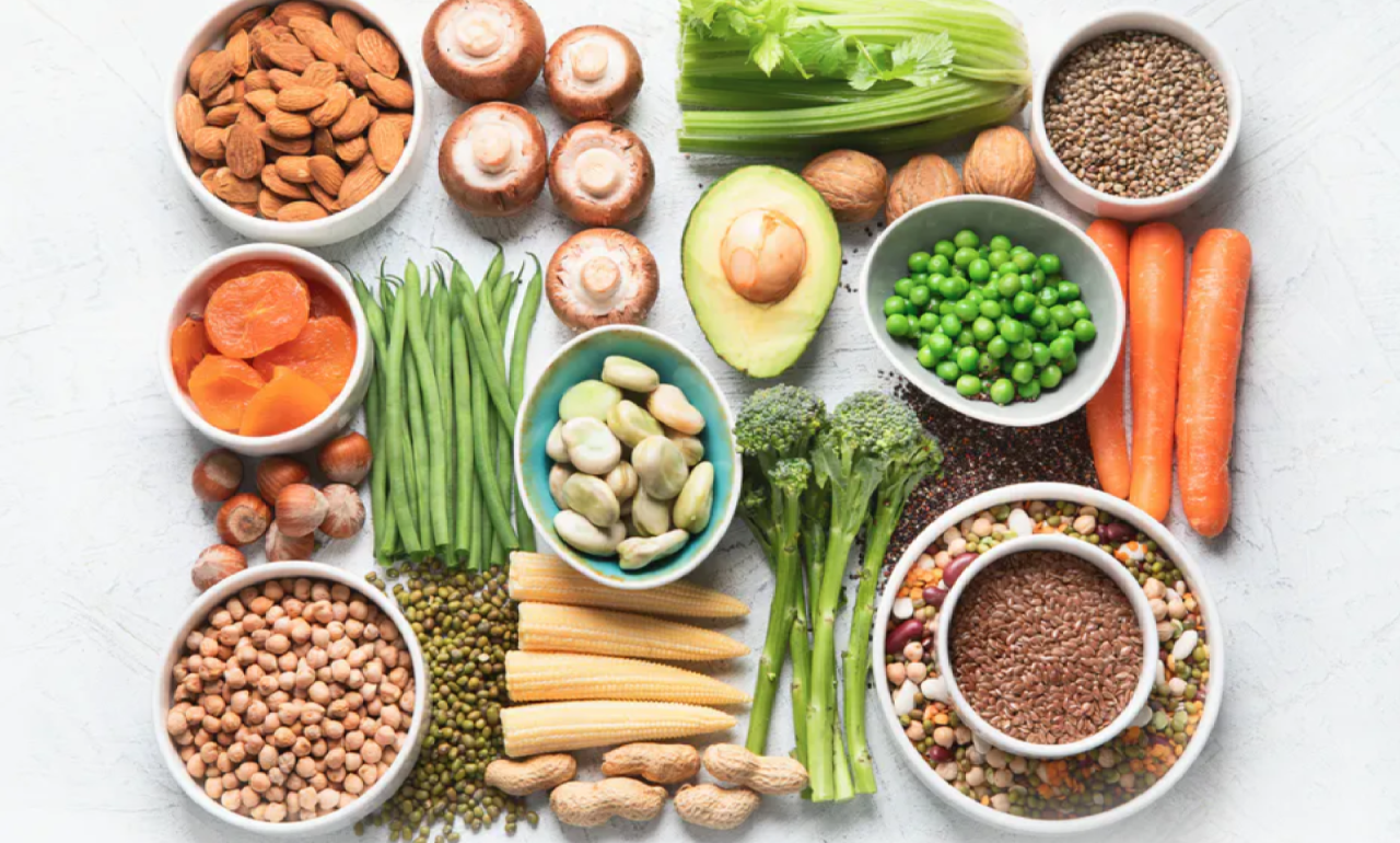 Five things for over-65s to consider when switching to a plant-based diet