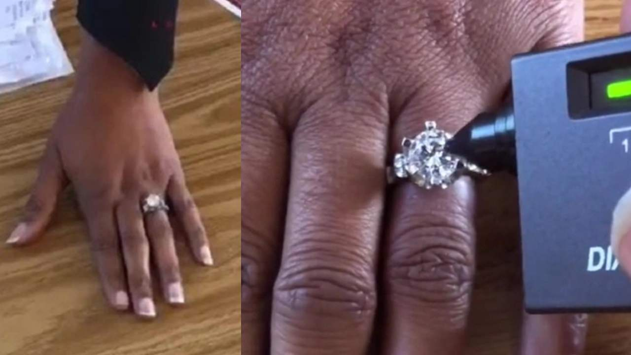 """Do it again!"": The worst way to find out your diamond ring is fake"