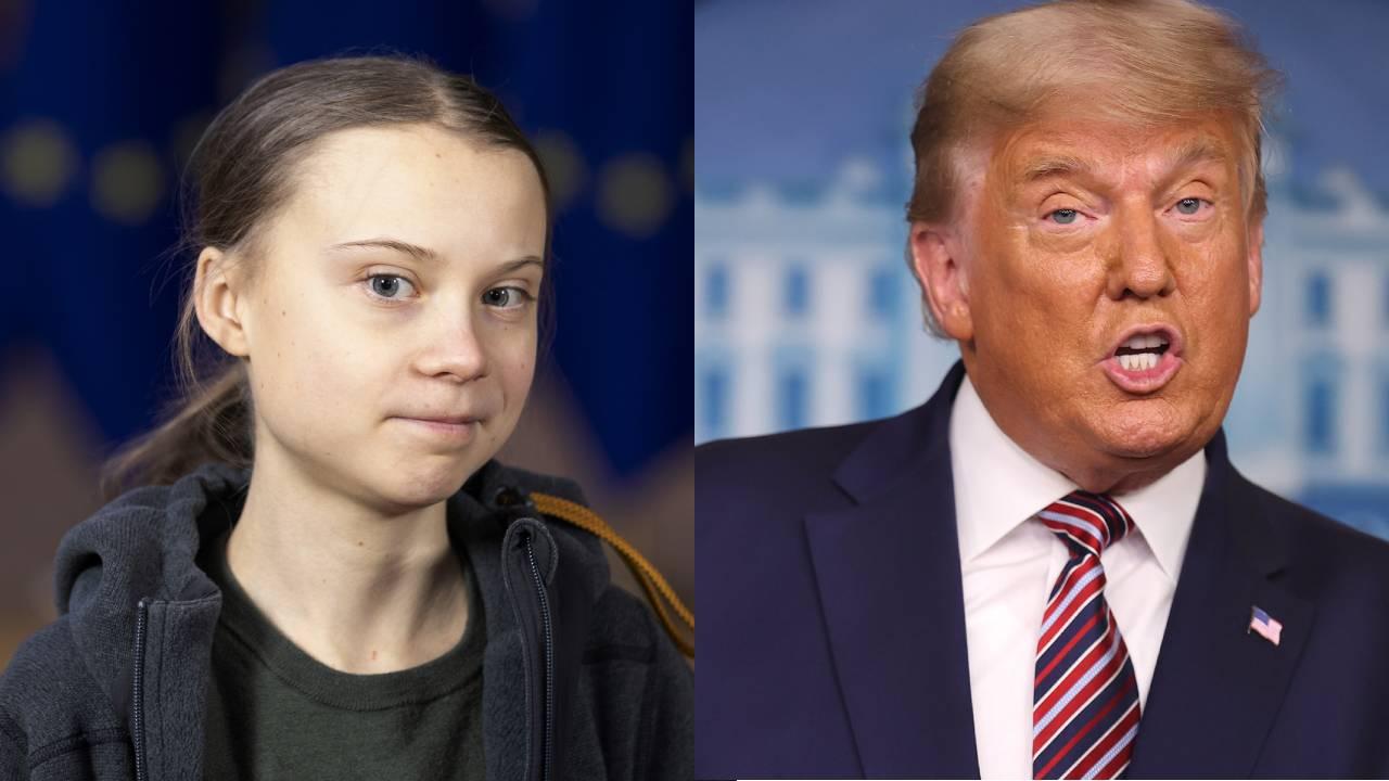 Greta Thunberg's timely trolling of Trump ignites the internet