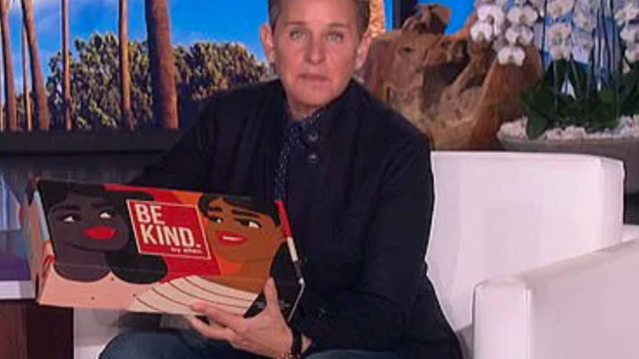 "Ellen DeGeneres causes outrage over $55 ""Be Kind"" boxes"