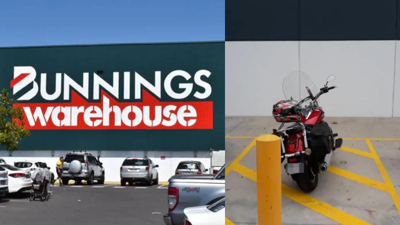Bunnings motorbike parking job condemned