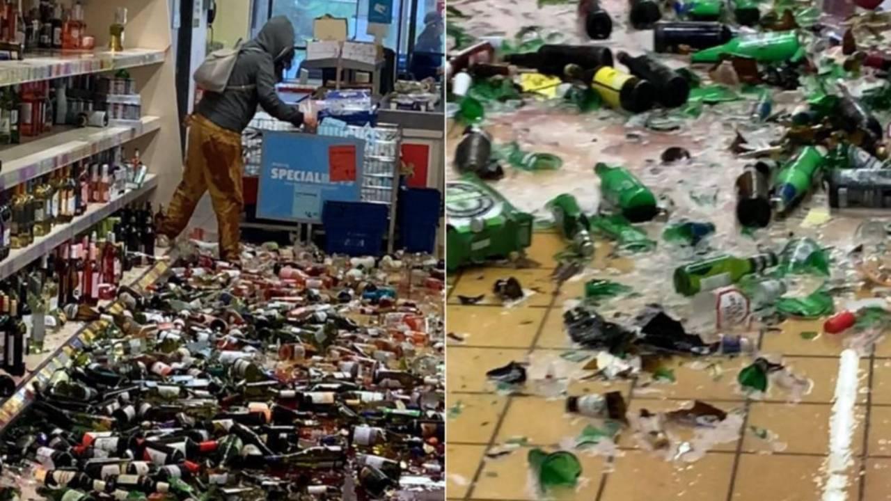 ALDI shopper causes $180k in damages after smashing alcohol