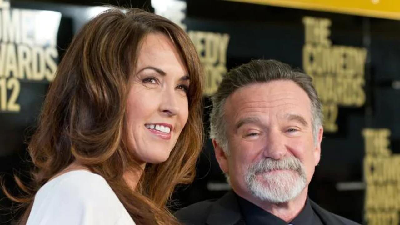 Robin Williams' widow sets the record straight about his death