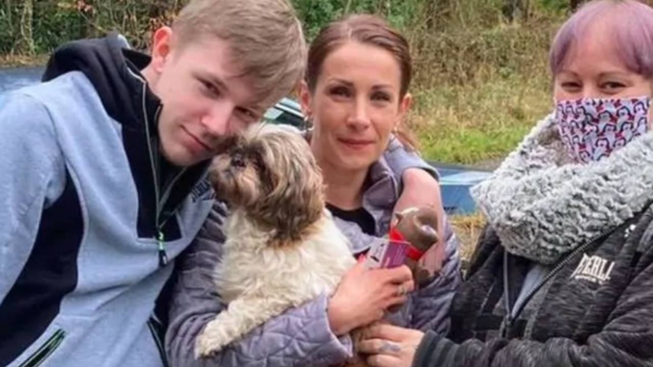 New Year miracle as dog missing for eight years is returned to owner