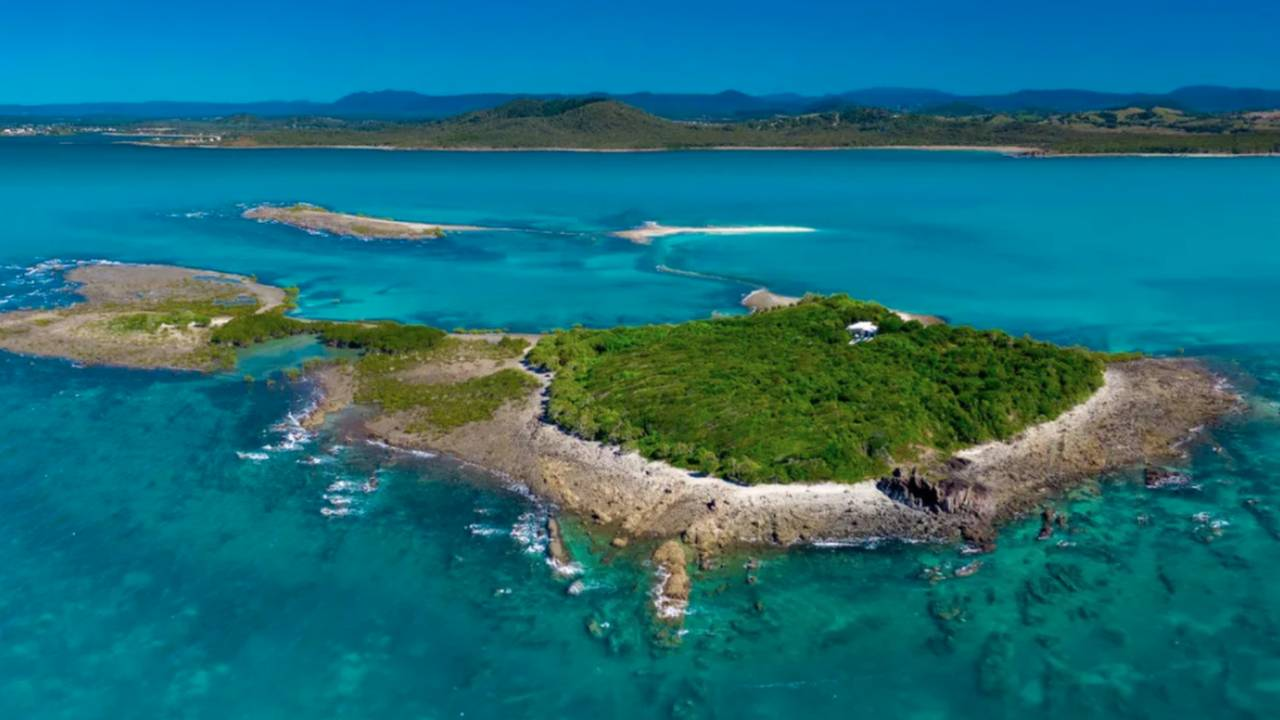 Incredible private island on Great Barrier Reef for sale