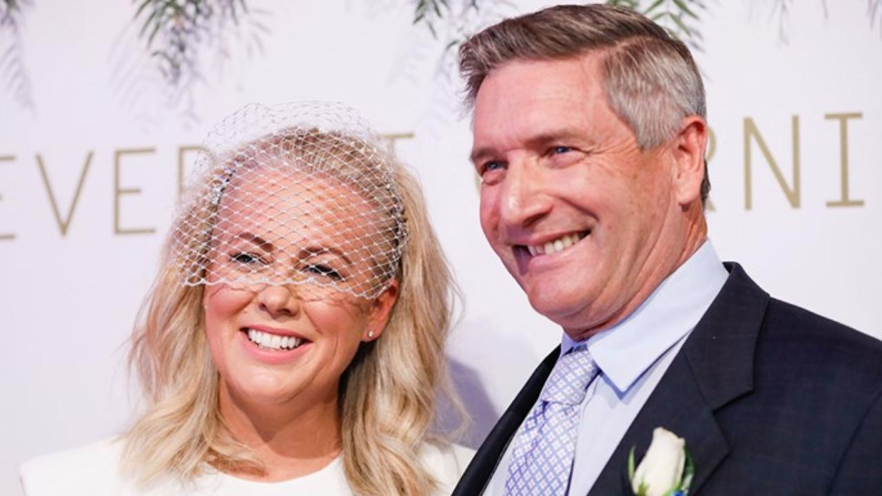 Samantha Armytage shows off dance skills in never before seen wedding photo