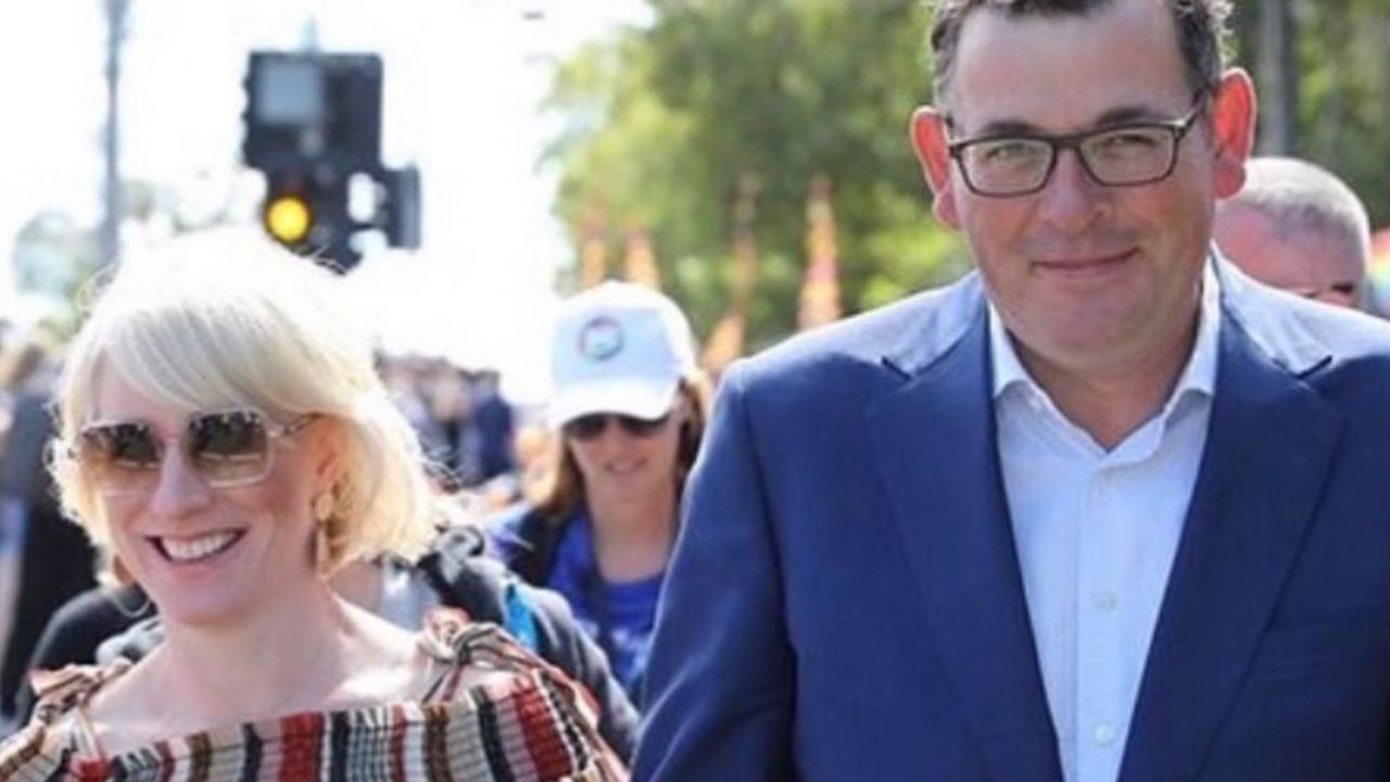 The blunt comment from Dan Andrews' wife that made him cut his holiday short
