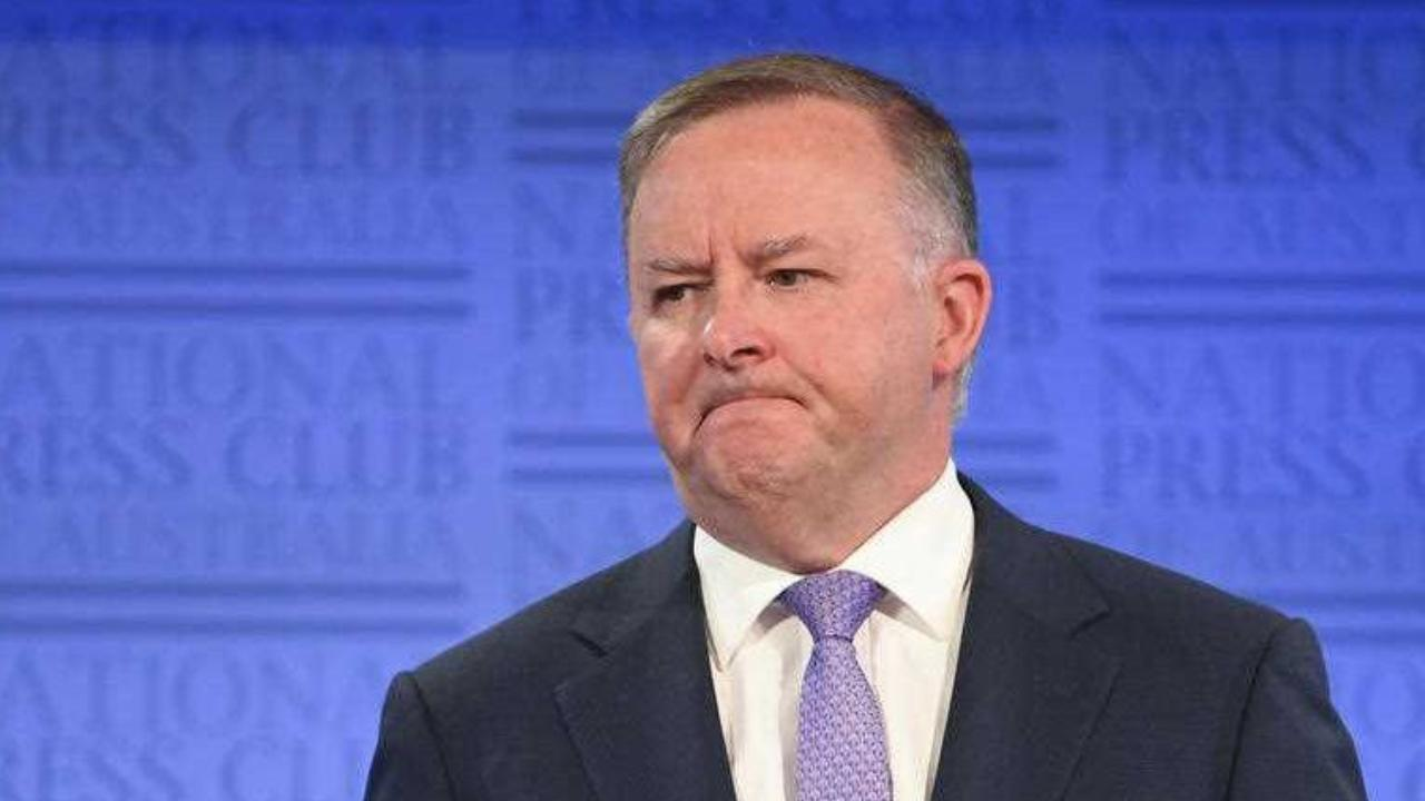 Anthony Albanese slammed for hospital comments