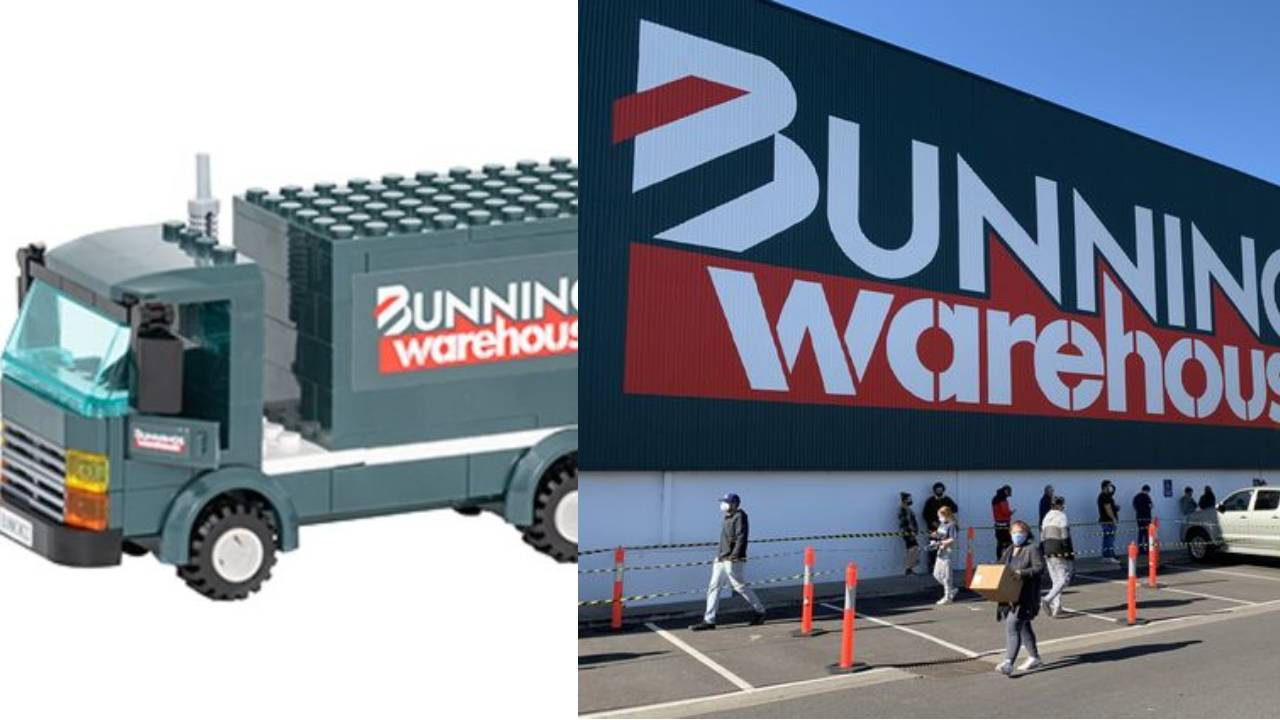 Bunnings launches LEGO-style collectables perfect for the grandkids
