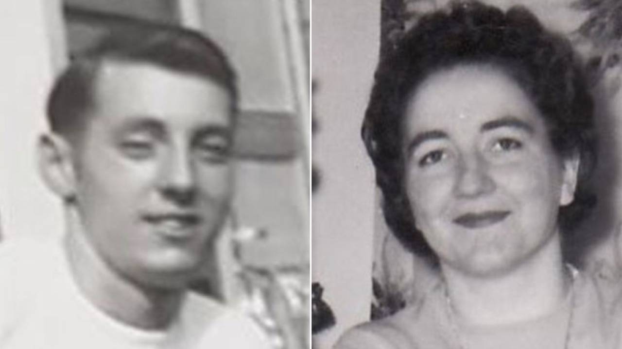 High school sweethearts tie the knot after 70 years apart