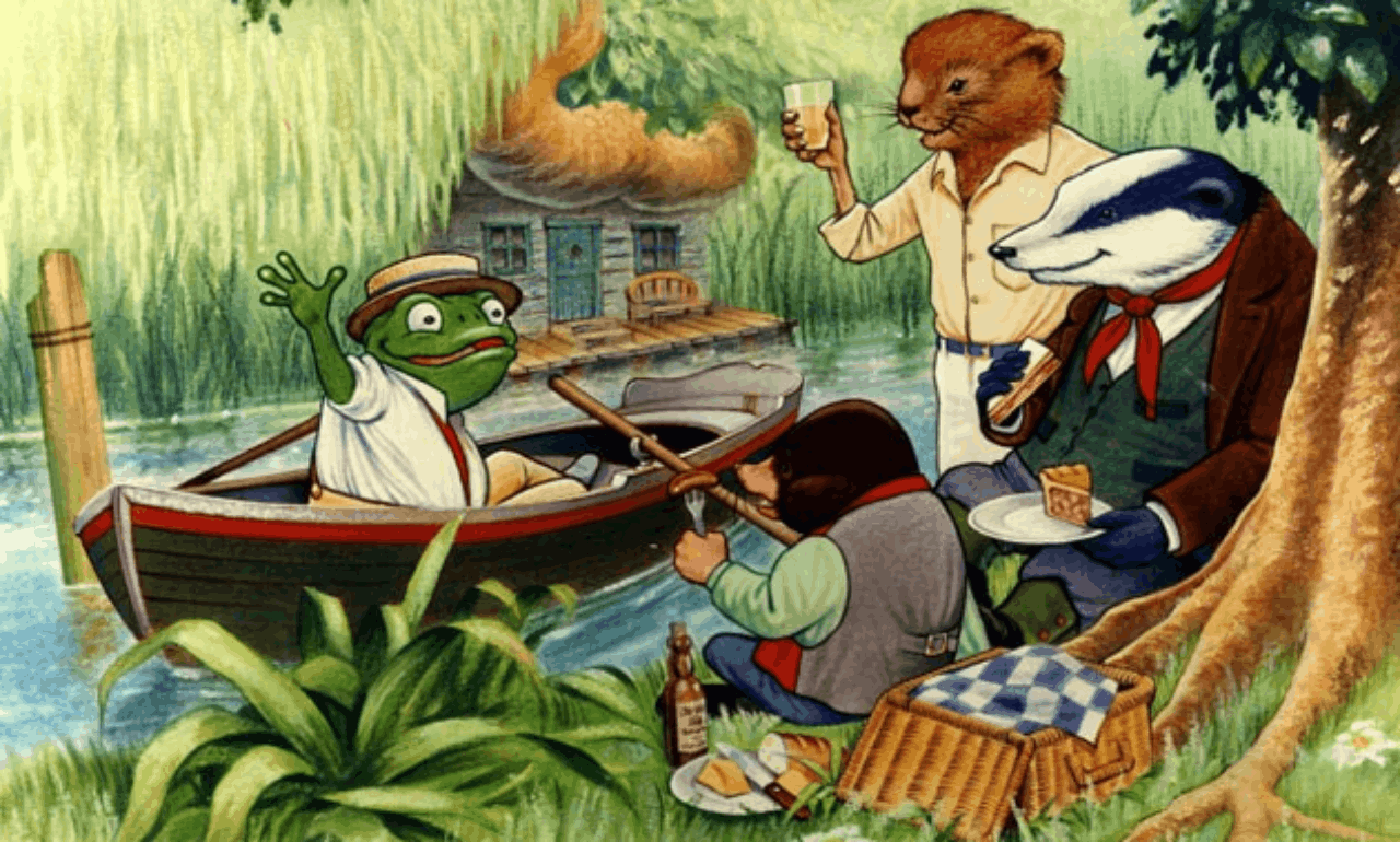 The Wind in the Willows — a tale of wanderlust, male bonding, and timeless delight