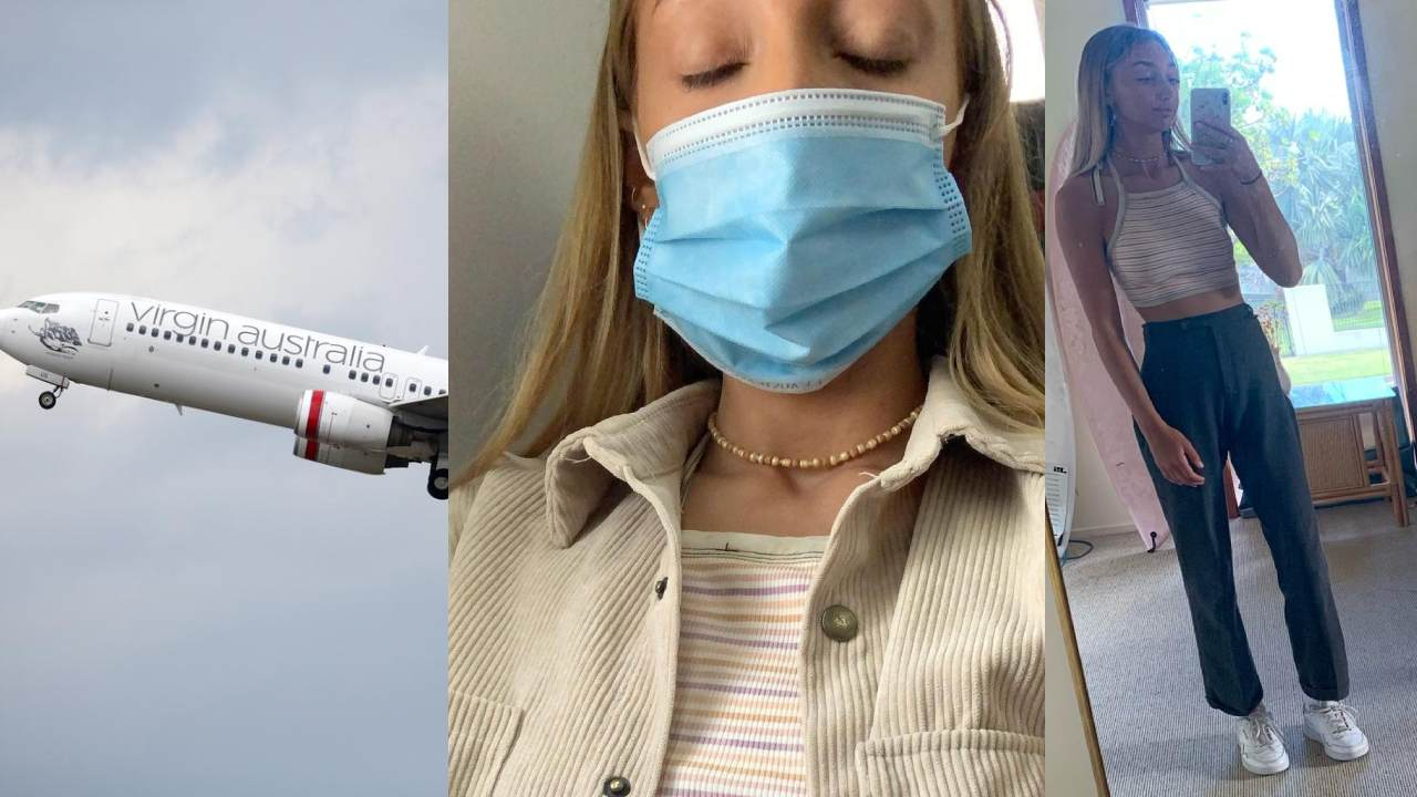 """""""Too much skin"""": Woman forced to change before takeoff"""