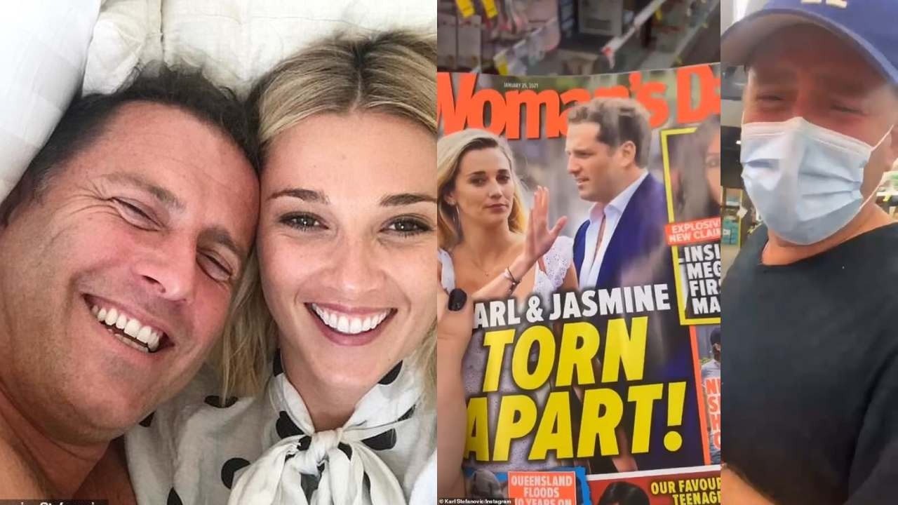 Karl Stefanovic responds to separation rumours