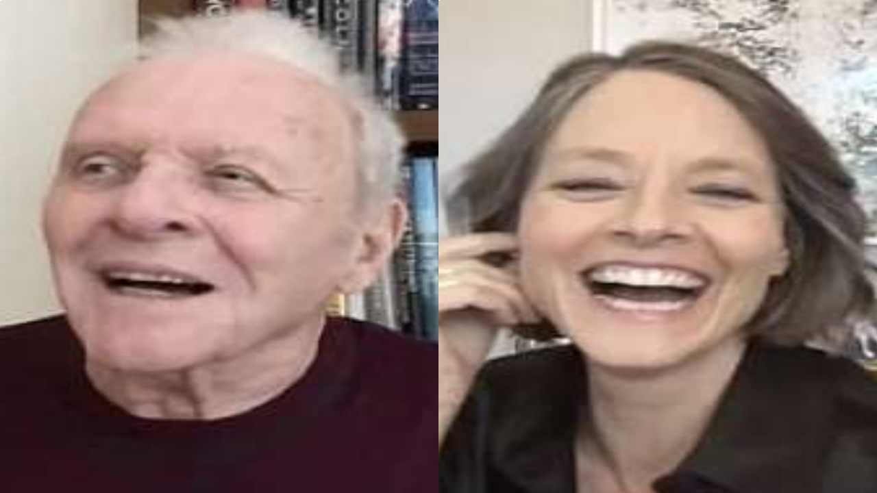 Anthony Hopkins and Jodie Foster reunite after 30 years