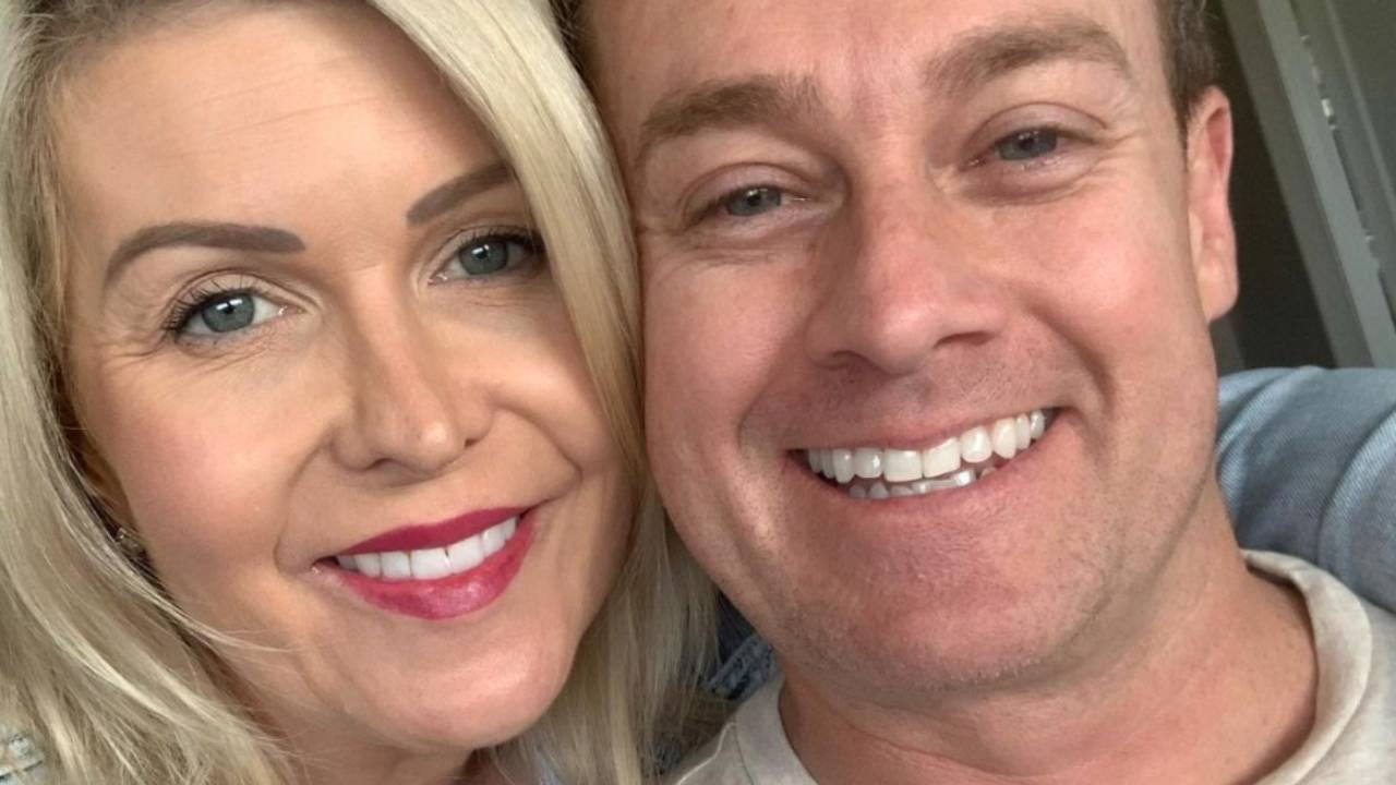 """She was married"": Grant Denyer gets candid about how he met Chezzi"