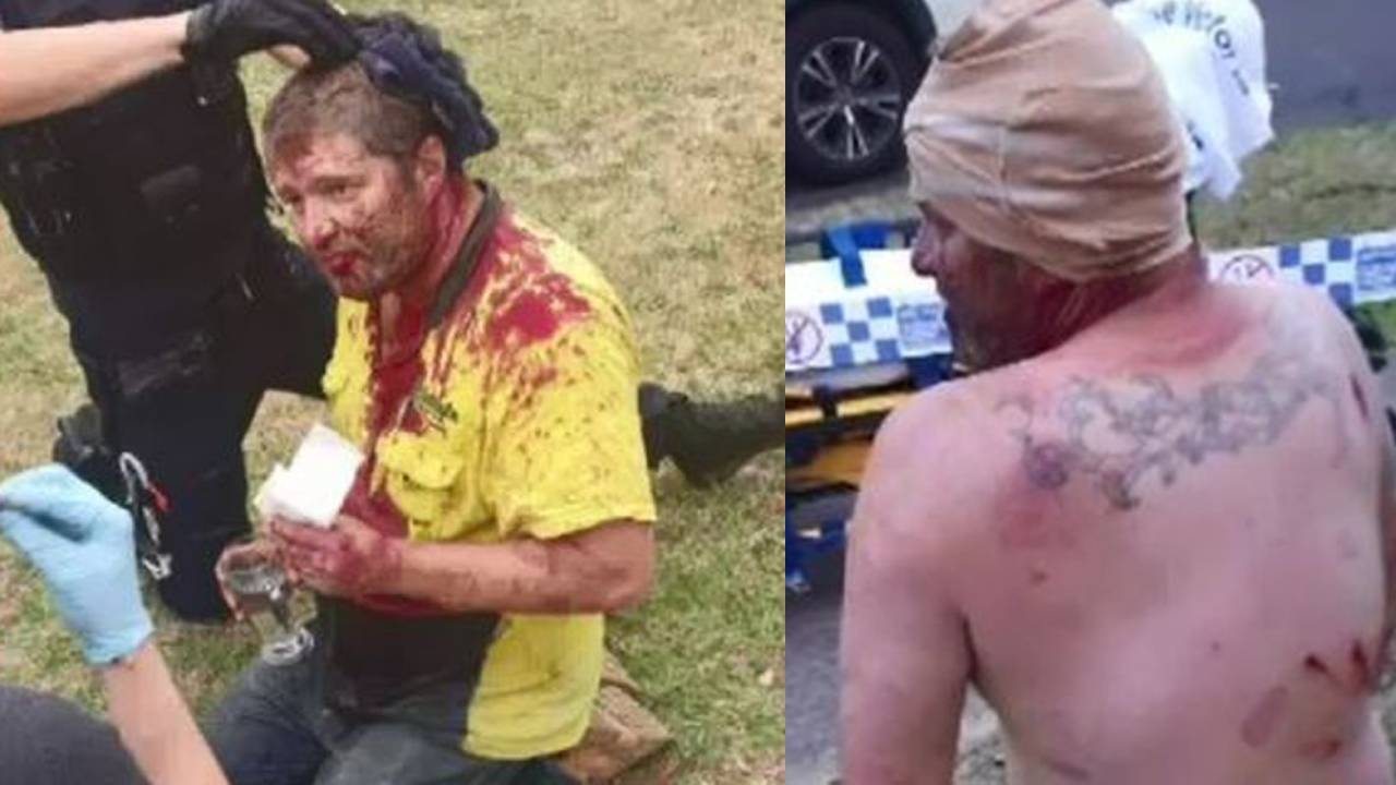 Neighbour ruled hero after being attacked with machete