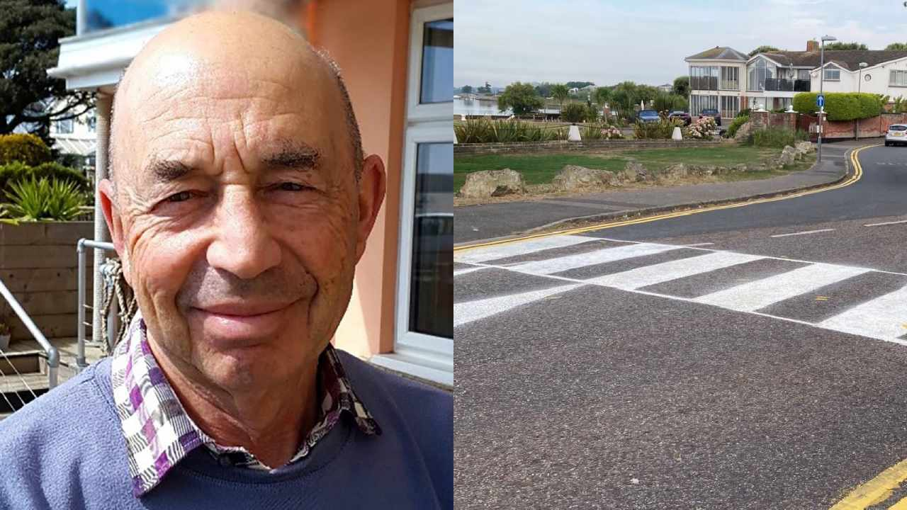 Elderly man fined over DIY zebra crossing for his disabled wife