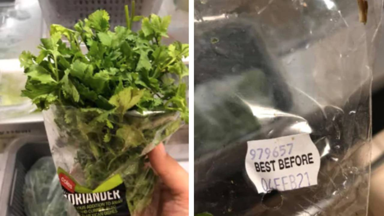 The Kmart hack that keeps herbs fresh for six weeks