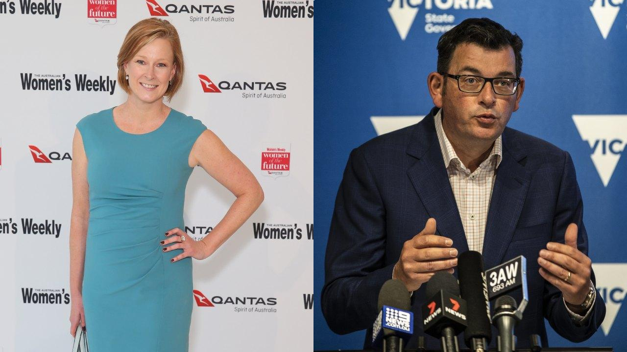 Leigh Sales attacked by Dan Andrews fan after press conference
