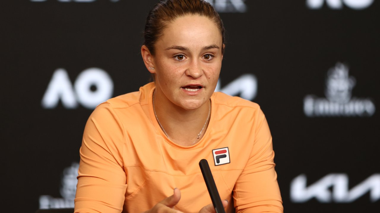 """I don't write the rules"": Ash Barty on her shock Aus Open loss"