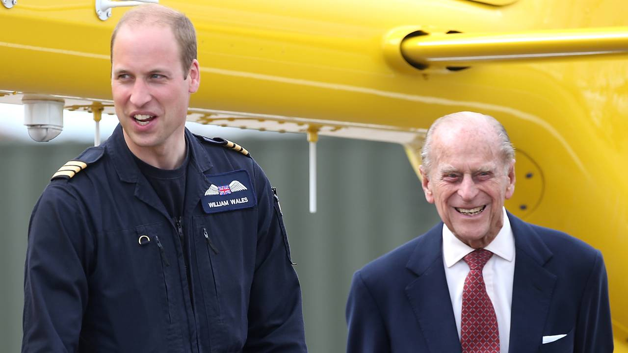 Prince William gives health update on Prince Philip
