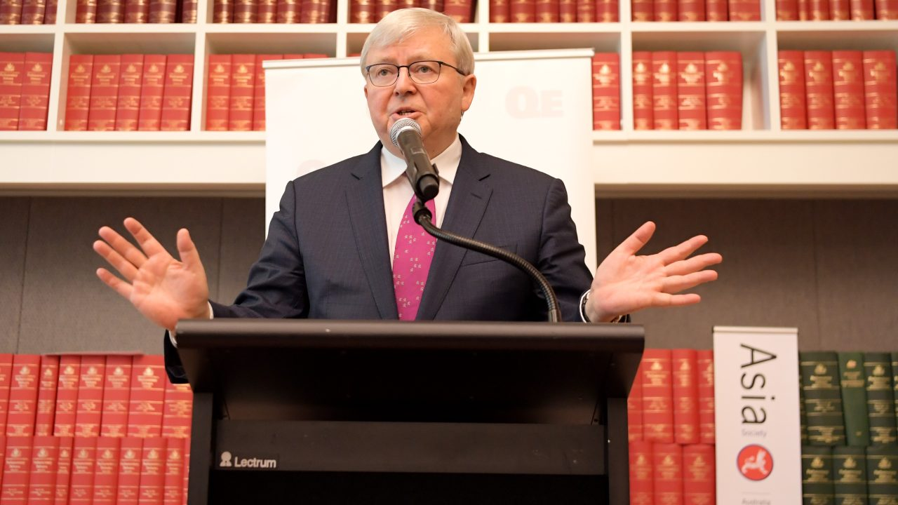 Kevin Rudd disputes story he wanted to assault diplomat