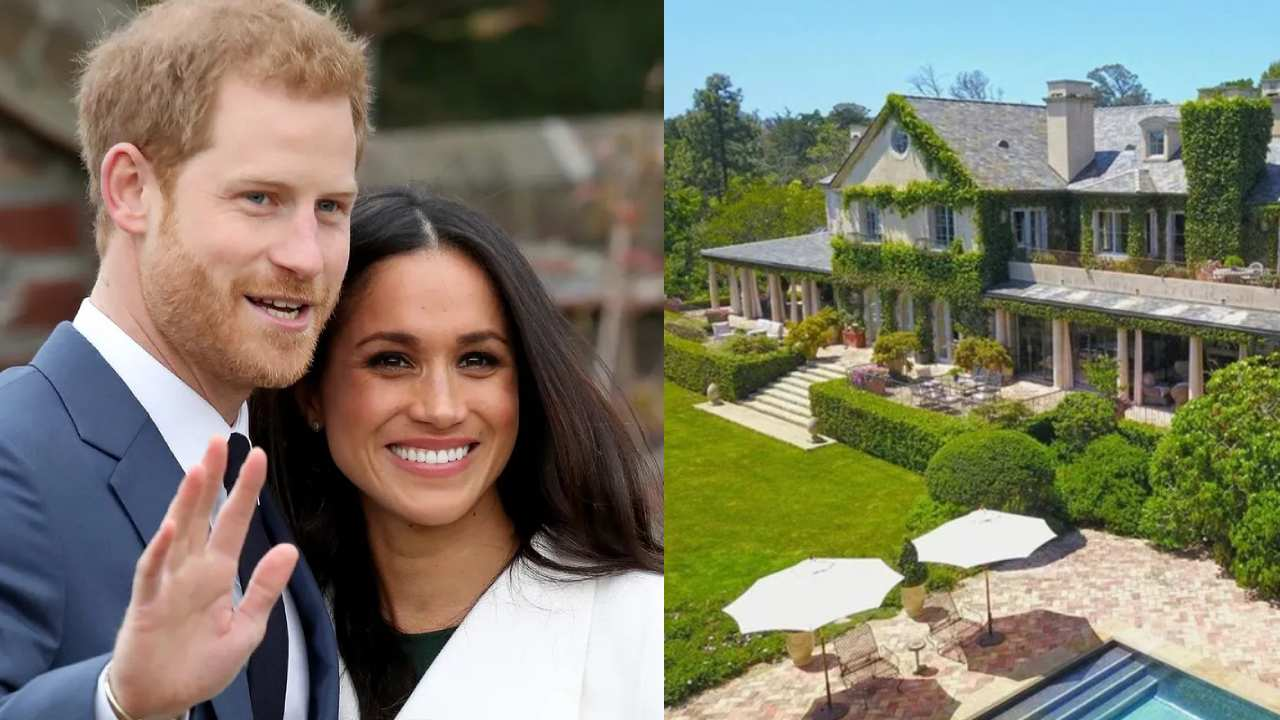 You can be Prince Harry and Meghan Markle's neighbour for $29.4 million