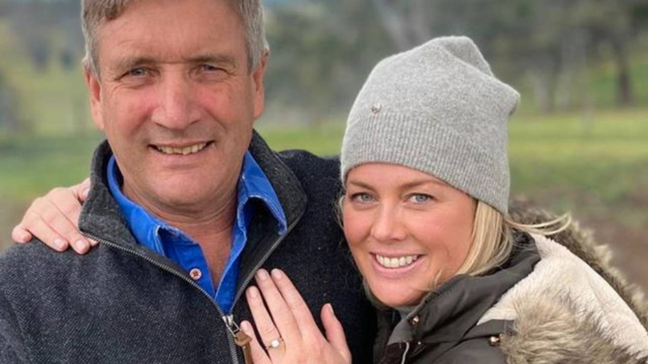 Sam Armytage's husband reveals how they met