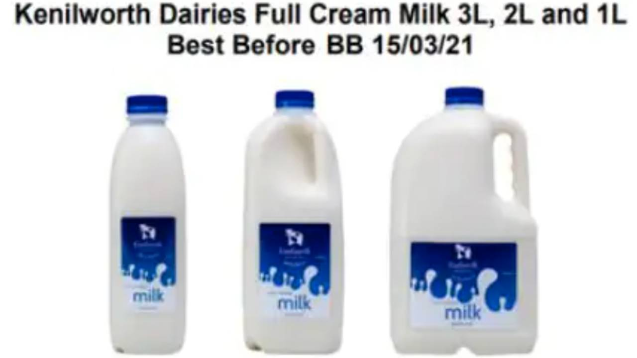 Urgent recall issued for popular milk over E. coli contamination fears