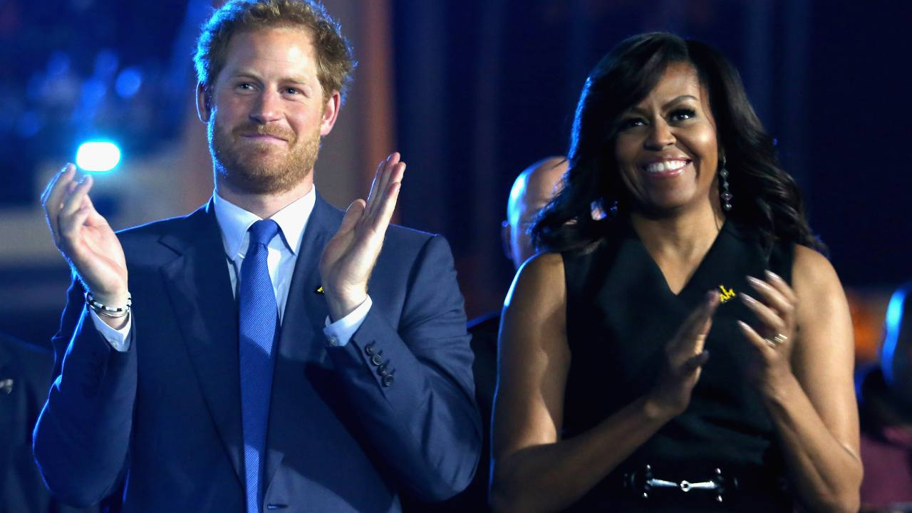 Michelle Obama's heartfelt plea to Harry and Meghan