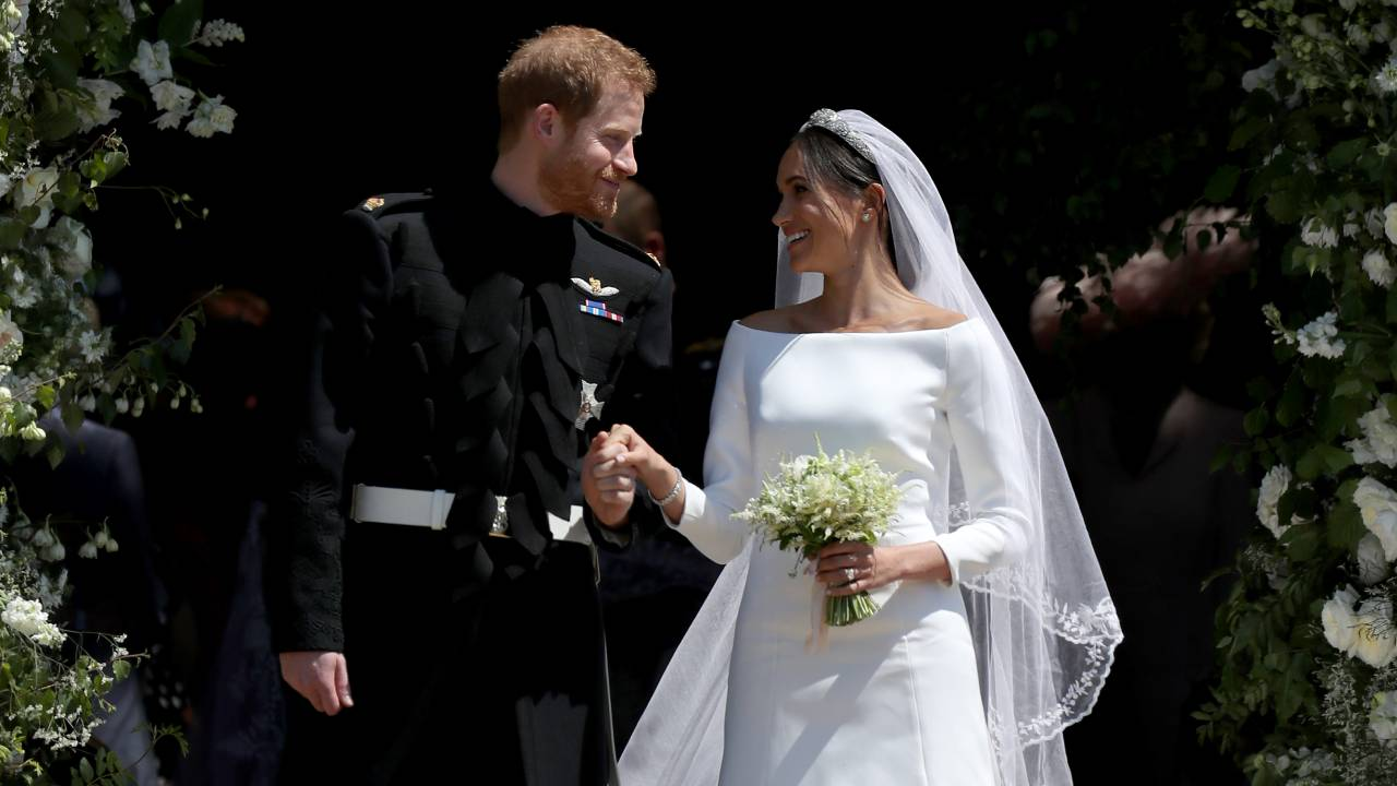 Proof that Harry and Meghan did not marry three days earlier