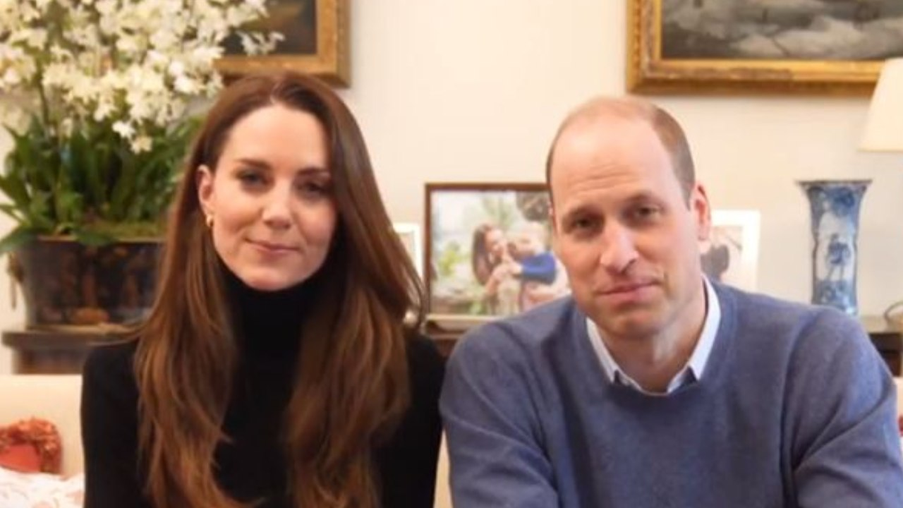 William and Kate's touching message about mental health