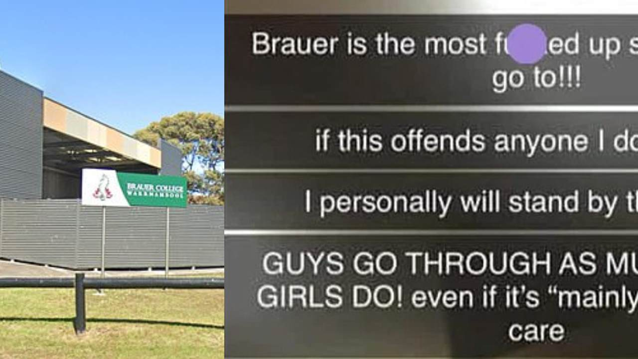 Backlash after young boys forced to apologise for their gender in school assembly