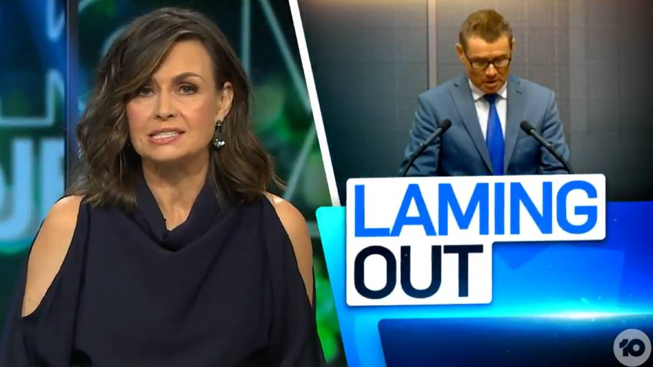 Lisa Wilkinson slams Liberal MP Andrew Laming
