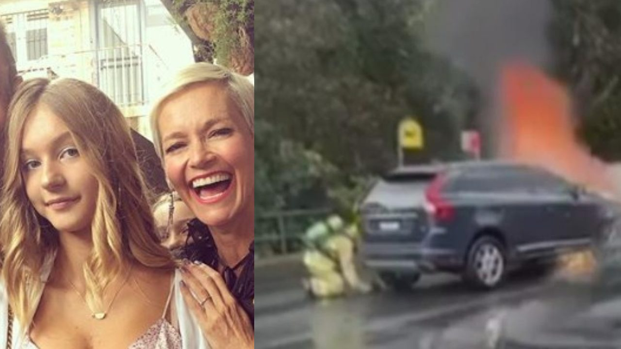 Jess Rowe opens up after terrifying escape from car that burst into flames