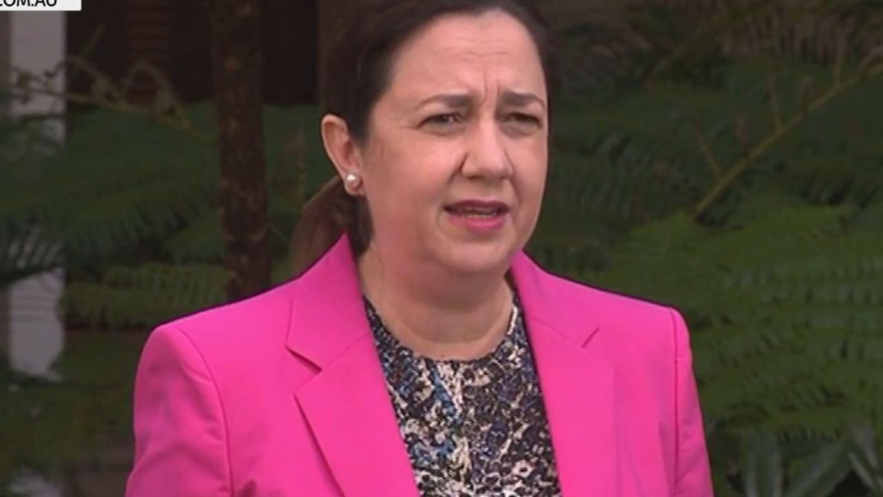 QLD Premier joyfully announces end to Brisbane lockdown