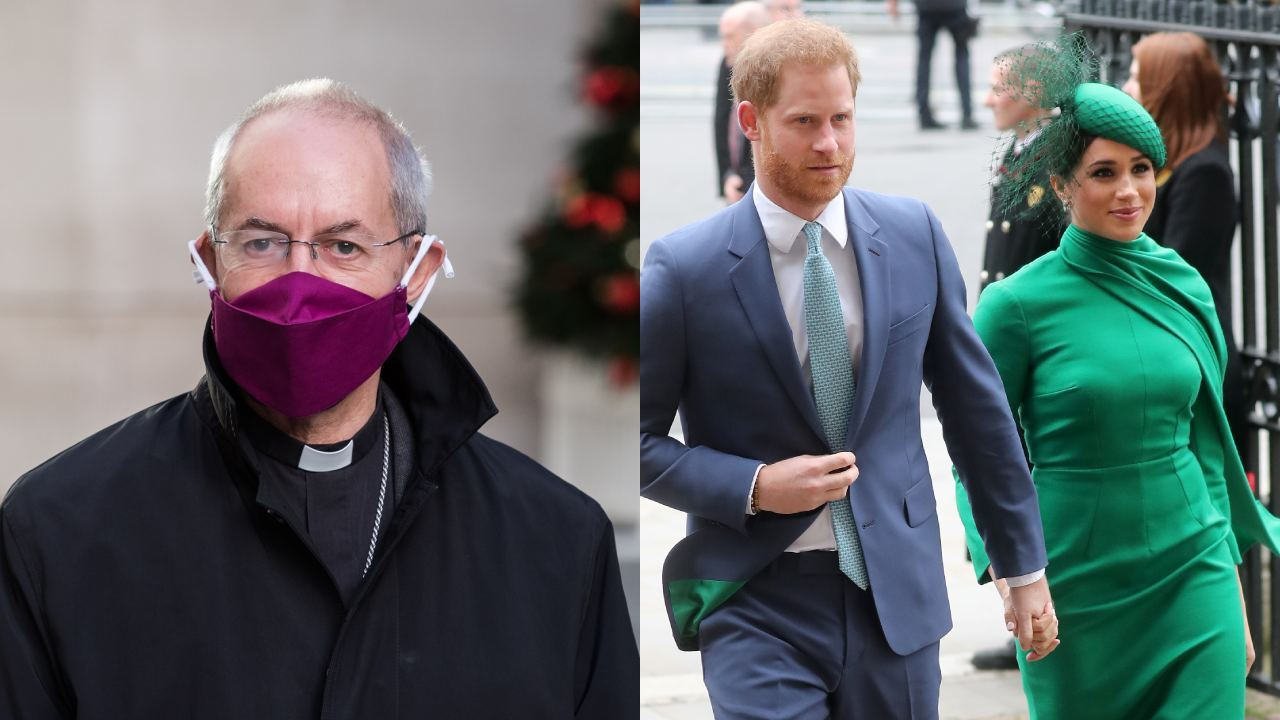 Archbishop of Canterbury DENIES marrying Meghan and Harry