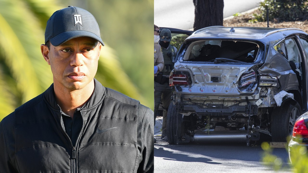 Police reveal cause of horrific Tiger Woods car crash