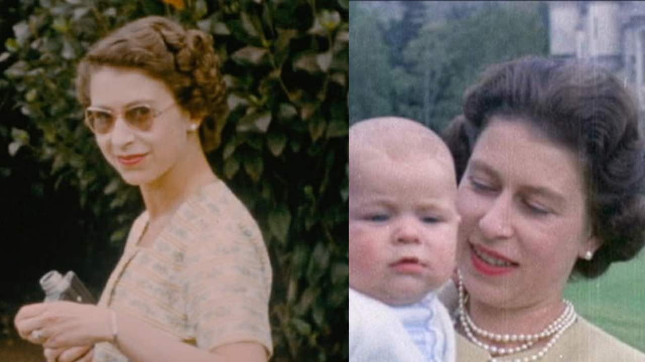 Rare footage shows Queen Elizabeth like you've never seen her