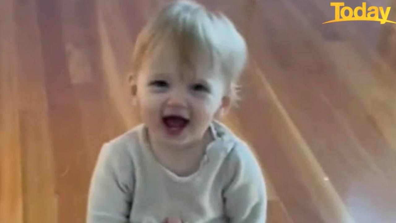 """Karl Stefanovic reveals """"big first"""" for baby Harper"""