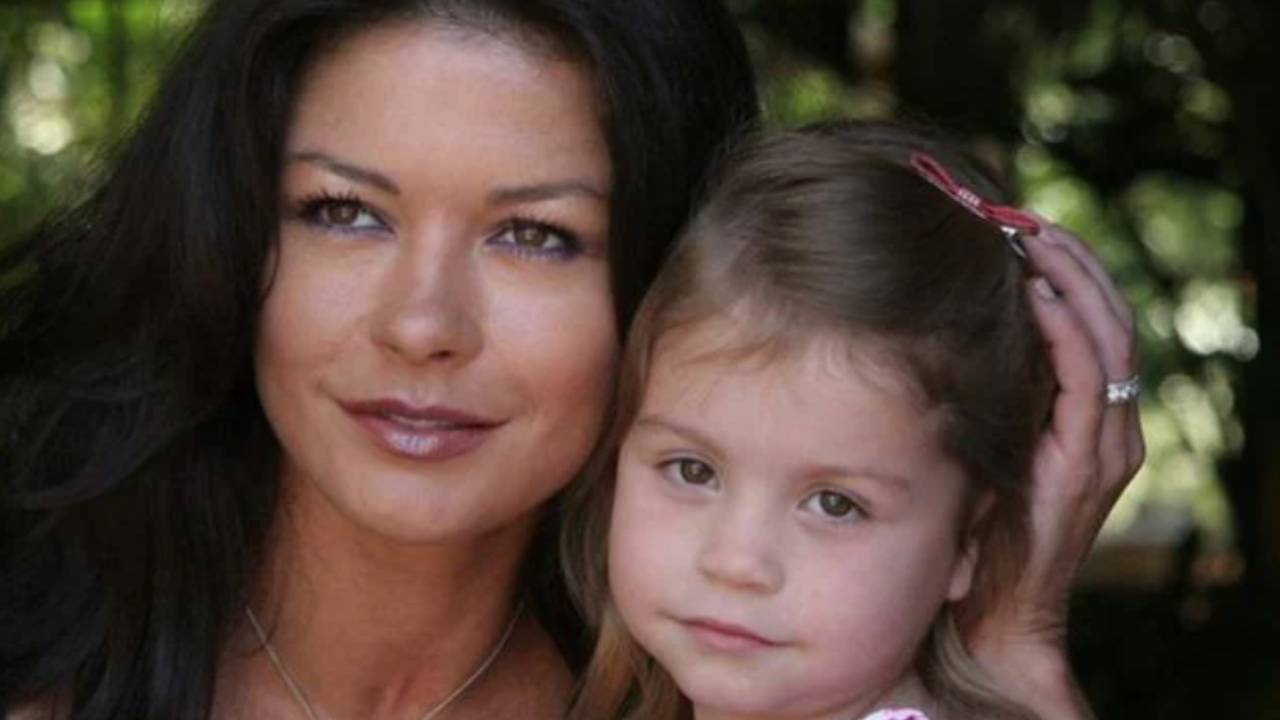 Catherine Zeta-Jones and Michael Douglas' daughter is all grown up