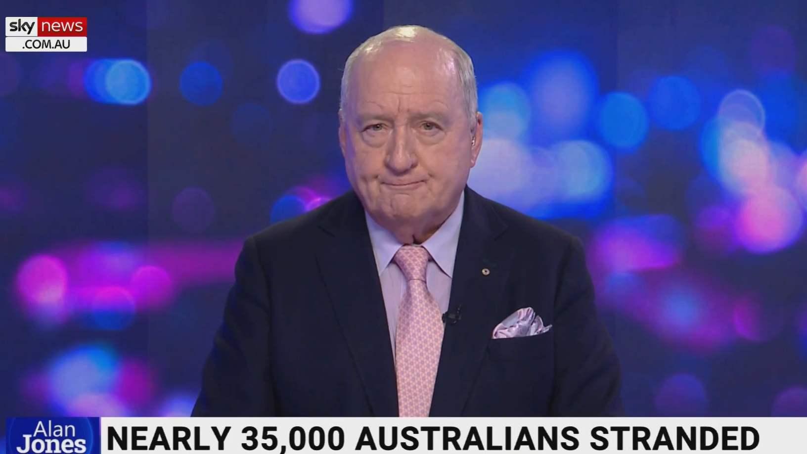"Alan Jones slams Australia's ""disproportionate"" COVID-19 response"