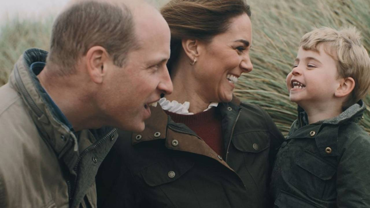 Beautiful new video of Prince William, Kate and the kids