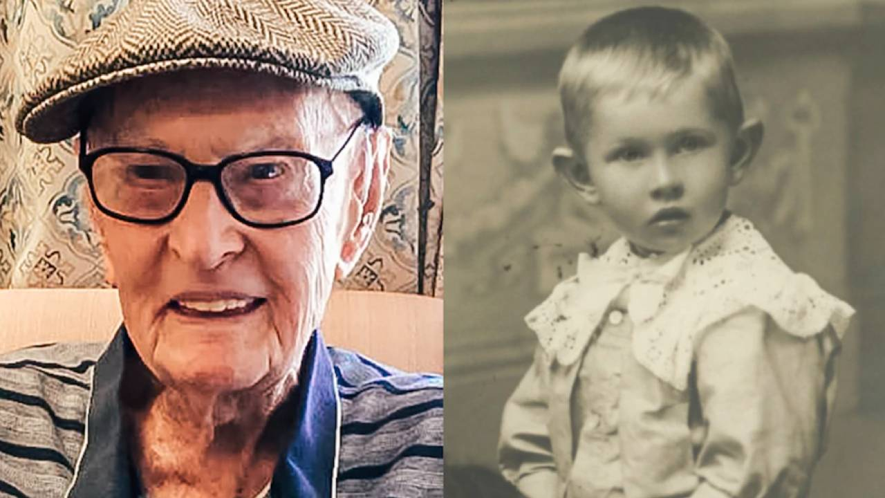 111-year-old man crowned Australia's oldest person