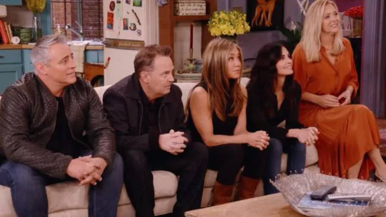 How much the Friends cast were paid for the reunion special