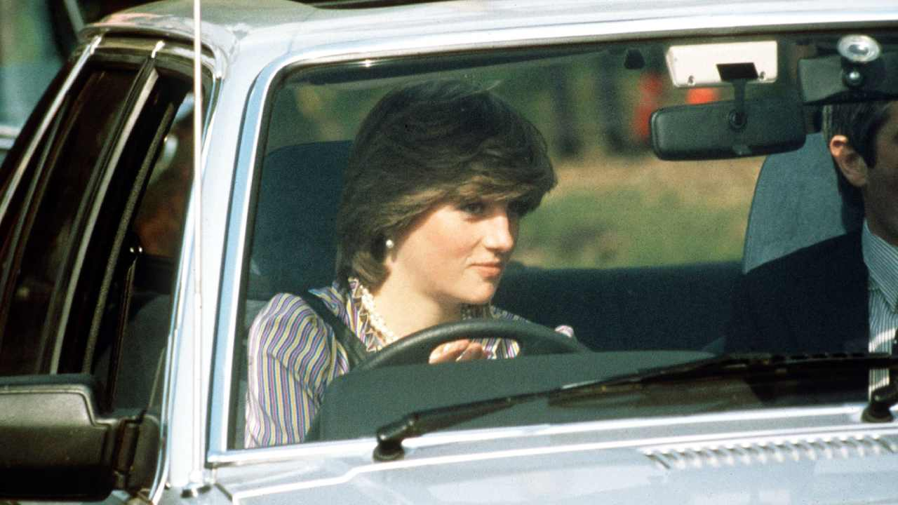 Diana's car up for sale after decades in hiding