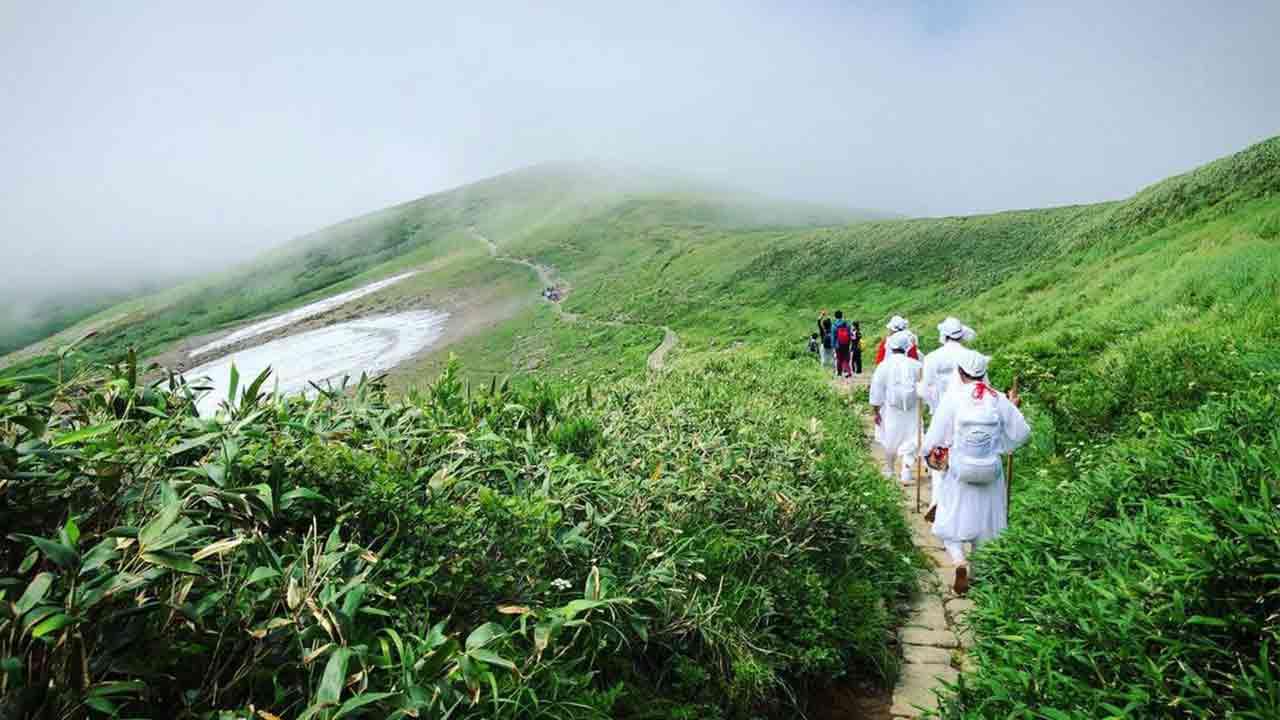 The monks walking Japan's mountains