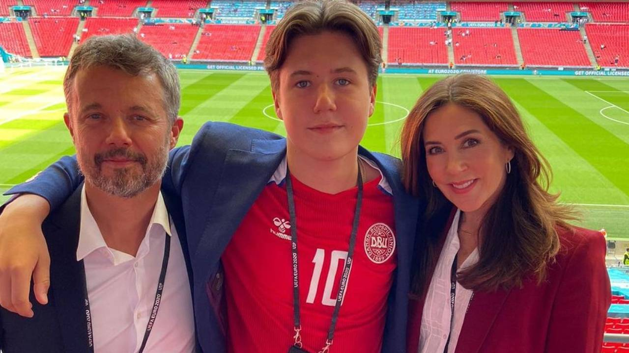 Princess Mary cheers on Denmark with her outfit
